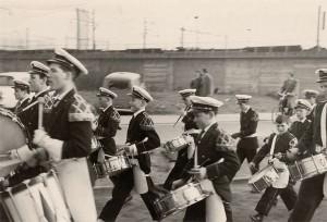 Het WMC komend vanuit de Demer tunnel richting Woensel in 1959